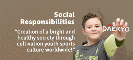 Social Responsibilities creation of a bright and healthy society through cultivating youth sports culture worldwide!